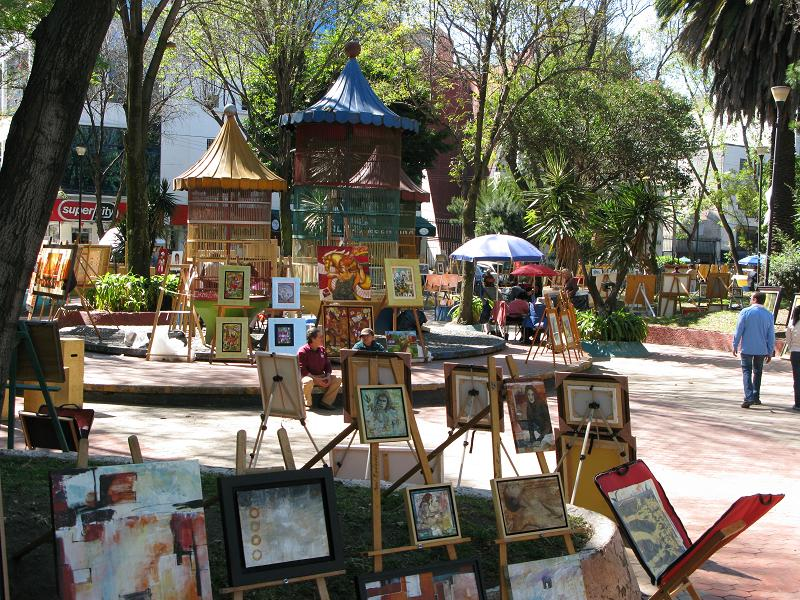 Jardin del Arte Mexico City