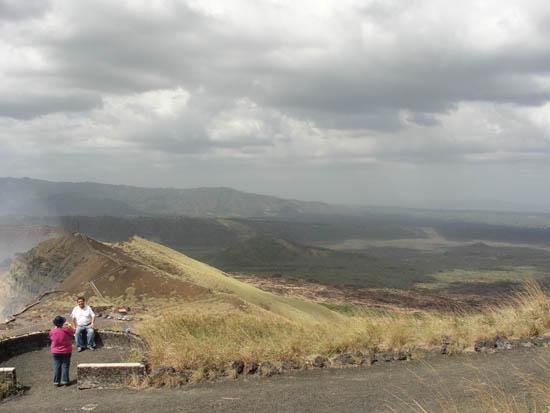 volcano plain