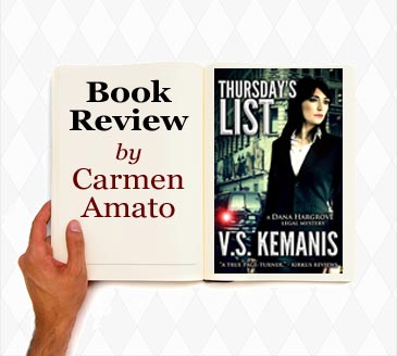 book review legal thriller Thursday's list