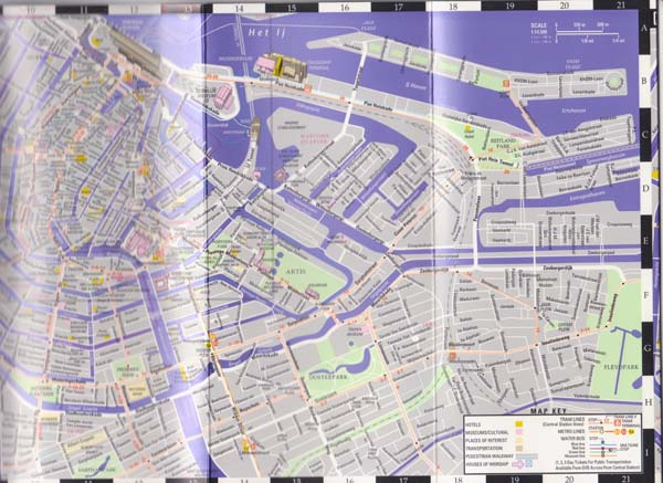 Why Navigation With A Map Still Matters: Streetwise Amsterdam Map At Infoasik.co