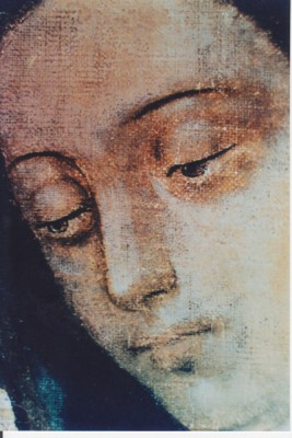 Face of Virgin of Guadalupe