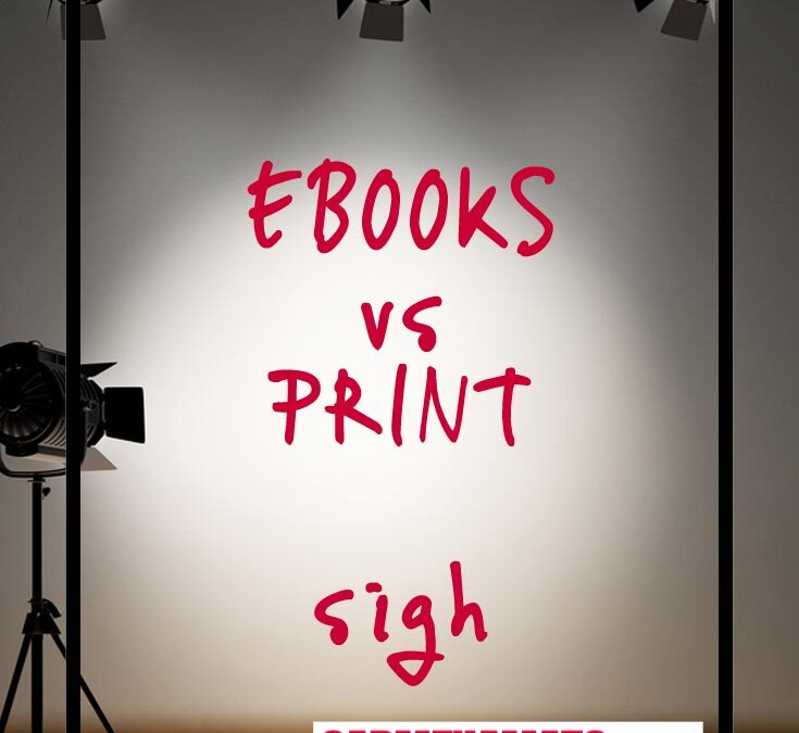 Ebook vs Print: Enough Already and Here's Why