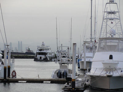 Marina in Panama