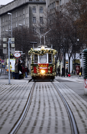 Trams of Christmas past