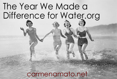 The Year We Made a Difference for Water.org