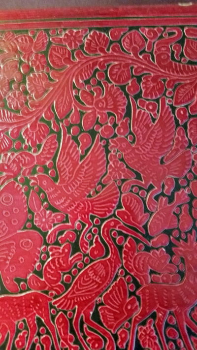 lacquer box from Emilia Cruz mystery series