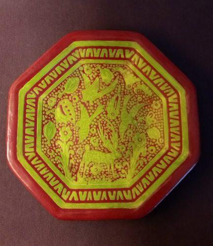rayada technique tray from mystery series author Carmen Amato