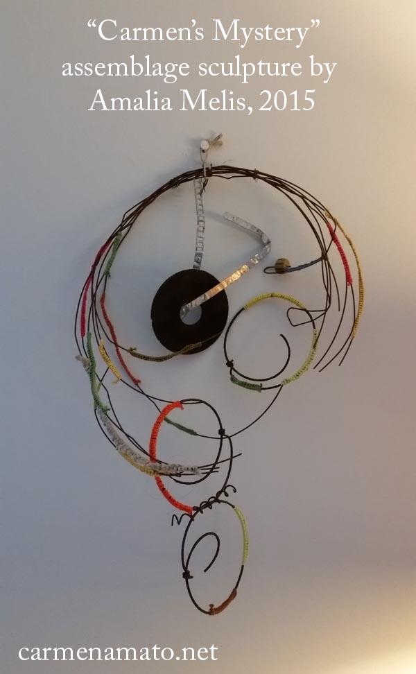 sculpture by Amalia Melis