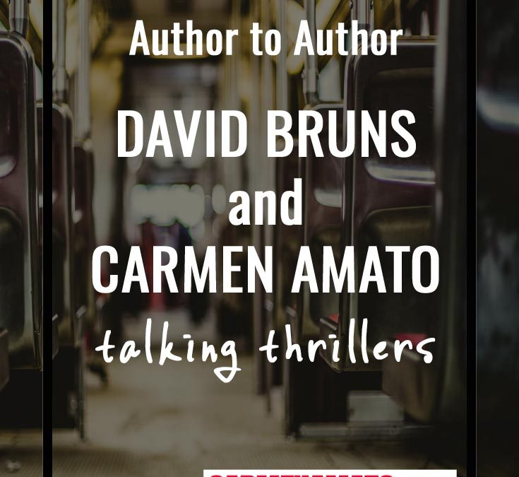 """Relevance and immediacy:"" A chat with thriller author David Bruns"