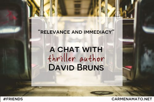 Carmen Amato interview with David Bruns