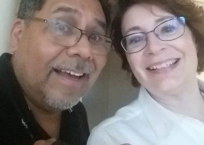 Carmen Amato and Felix Contreras