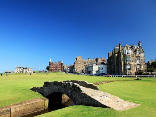 St. Andrews golf resort, courtesy of the Travel Channel