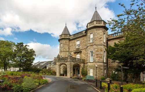 Entrance to the Dalmahoy golf resort, courtesy of www.dalmahoyhotelandcountryclub.co.uk/golf/