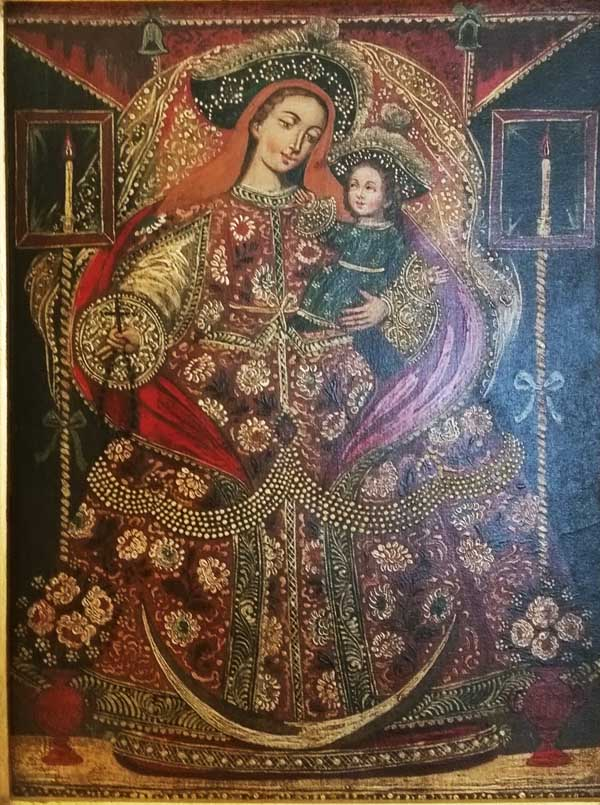 Carmen Amato's Virgin from Peru