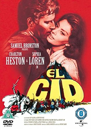 El Cid movie poster
