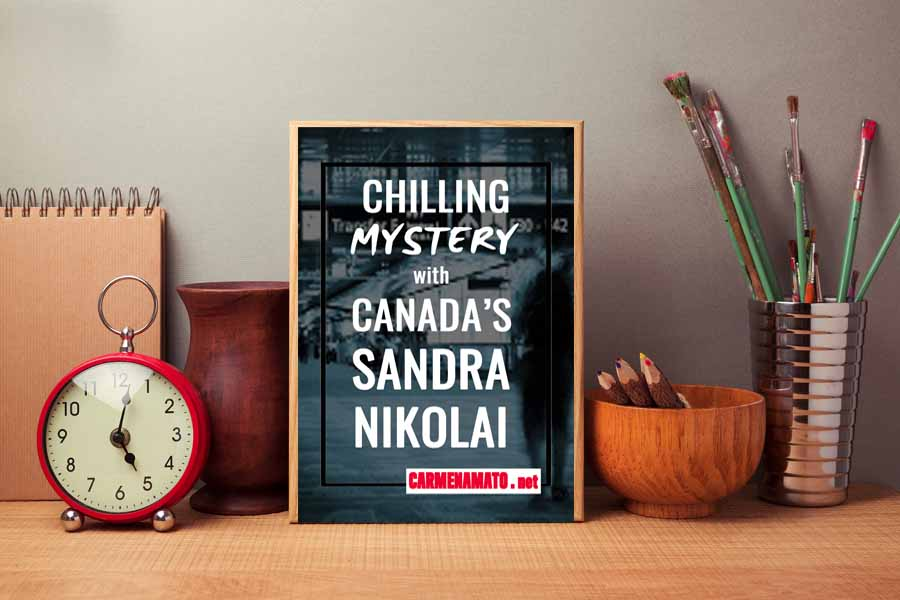 Mystery author Sandra Nikolai: Poisons, pressure, and everyday heroes