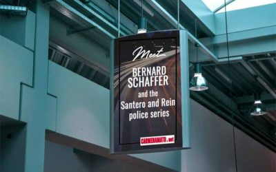 Author Bernard Schaffer debuts new cop series