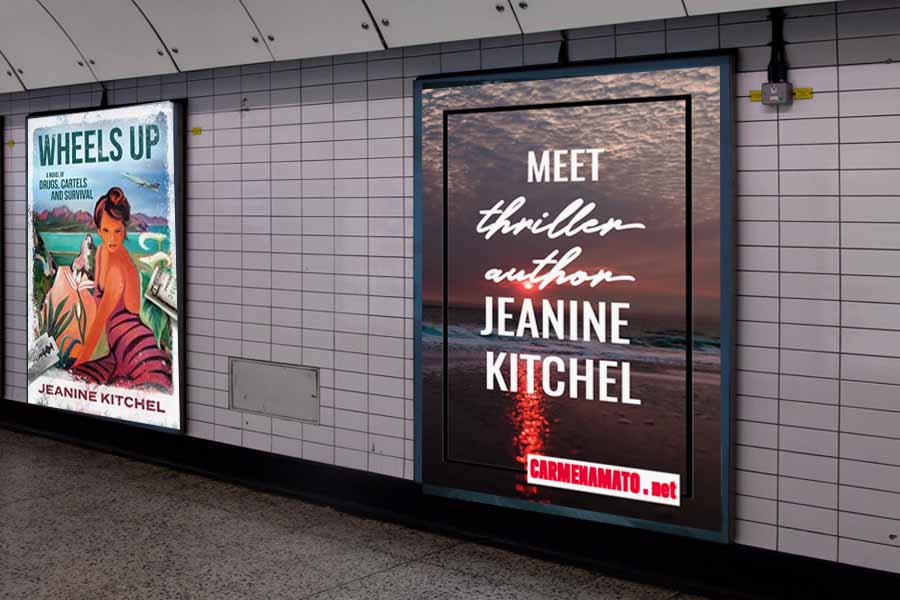 Meet WHEELS UP thriller author Jeanine Kitchel