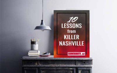 10 Lessons from Killer Nashville
