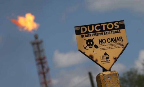 Reuters Mexican fuel thieves