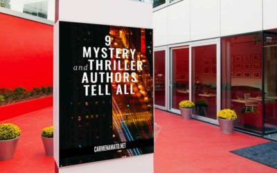 9 Mystery and Thriller Authors Tell All