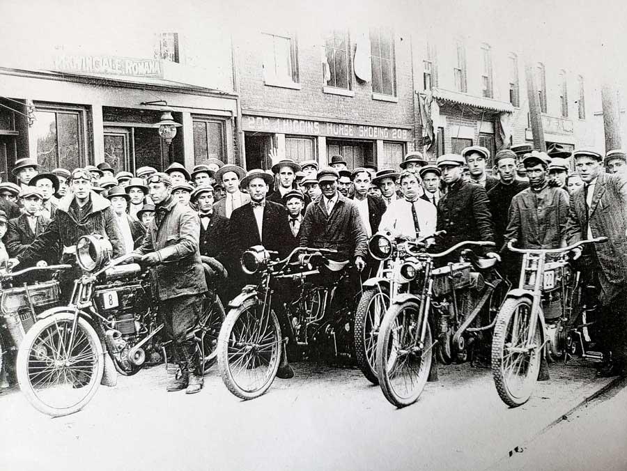 Rome NY 1927 motorcycle race