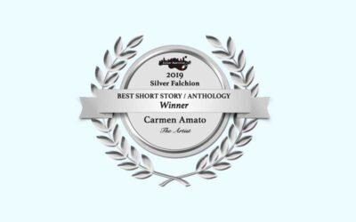 "Carmen Amato Wins Killer Nashville's Silver Falchion Award for ""The Artist"""