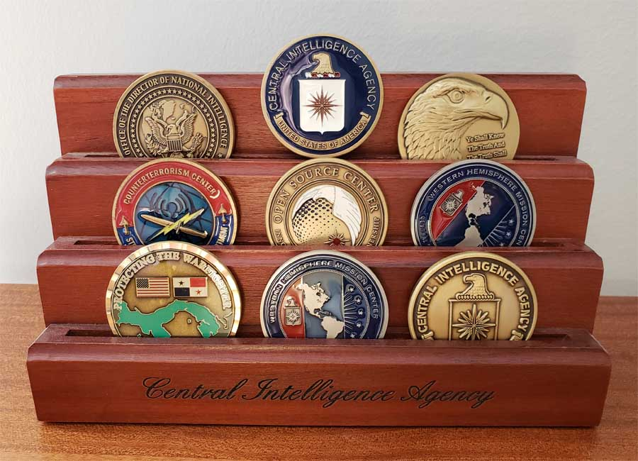 CIA challenge coins