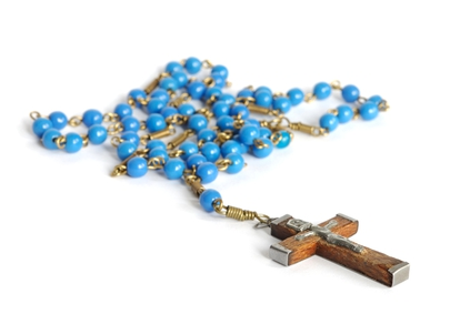 rosary for Father Richard