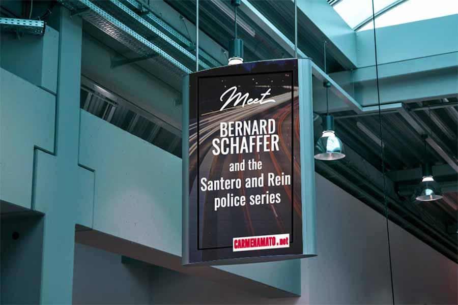 Author Bernard Schaffer debuts new cop series