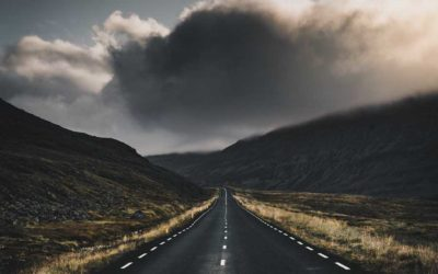 The road between the storms