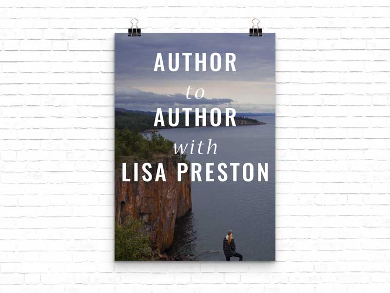 Mystery author Lisa Preston: new series, dinner with Twain & tech advice