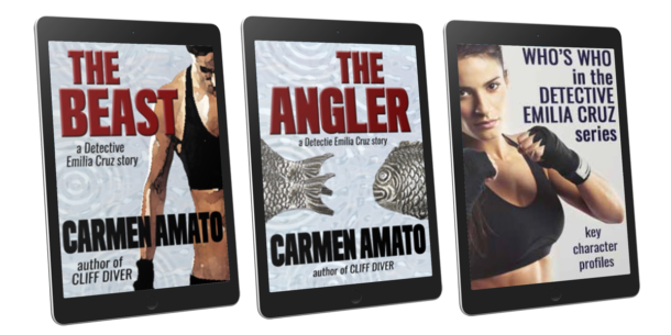 3 volume Starter Library by crime writer Carmen Amato