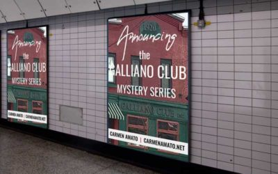 Announcing the Galliano Club new historical mystery series