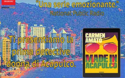 Virgibooks Publishes Detective Emilia Cruz Stories in Italian