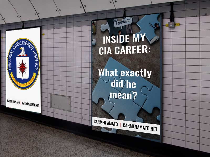 Inside my CIA Career: Parting Words