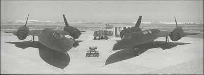 SR71 and Oxcart spyplanes