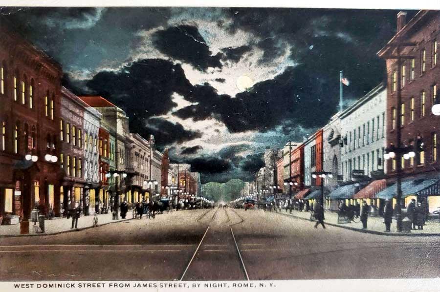 Postcard of Rome 1919