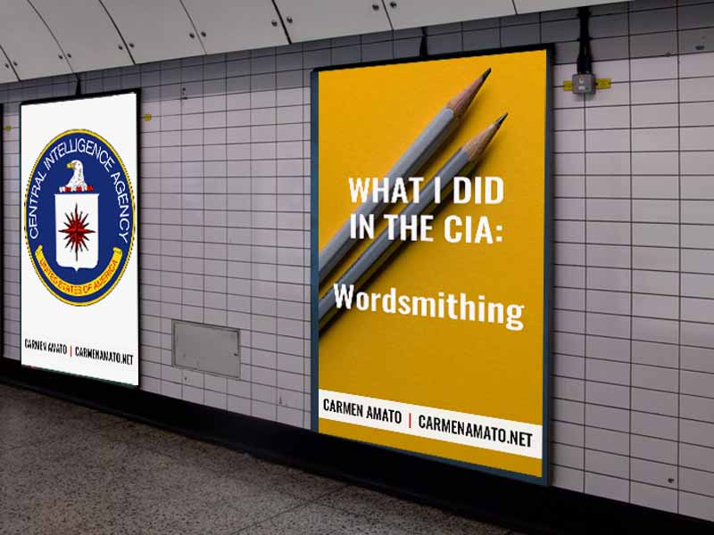 What I did in the CIA: Glutinous but not Unflavorful