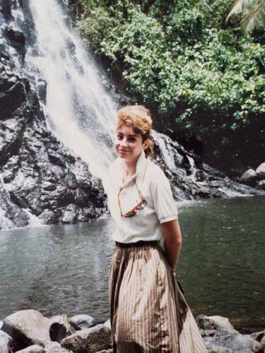 Carmen Amato in Fiji