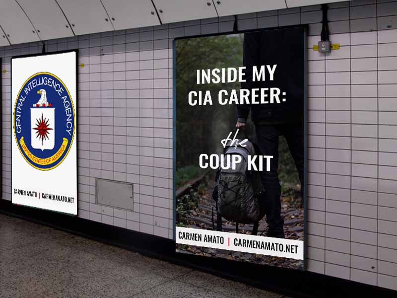 Inside my CIA Career: the Coup Kit
