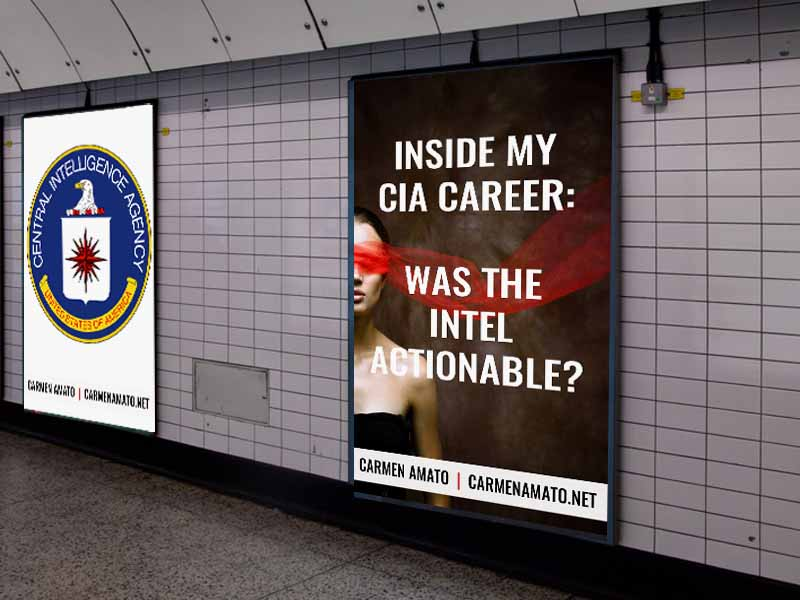 "Inside my CIA Career: Make it ""Actionable"""