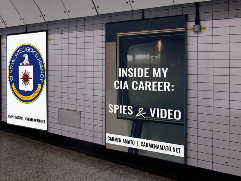 Inside my CIA Career: The Moving Picture Show